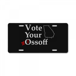 vote your ossoff essential t shirt License Plate | Artistshot