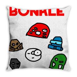 BONKLE Throw Pillow | Artistshot
