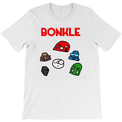 Bonkle T-shirt Designed By Cloudystars