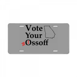 vote your ossoff t shirt License Plate   Artistshot