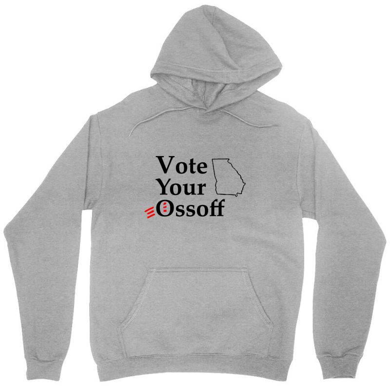Vote Your Ossoff T Shirt Unisex Hoodie   Artistshot