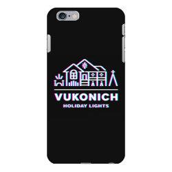 vukonich holiday lights house illustration  t shirt iPhone 6 Plus/6s Plus Case | Artistshot