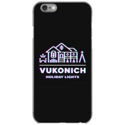 vukonich holiday lights house illustration  t shirt iPhone 6/6s Case | Artistshot
