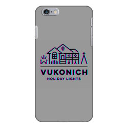 vukonich holiday lights house illustration classic t shirt iPhone 6 Plus/6s Plus Case | Artistshot