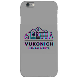 vukonich holiday lights house illustration classic t shirt iPhone 6/6s Case | Artistshot