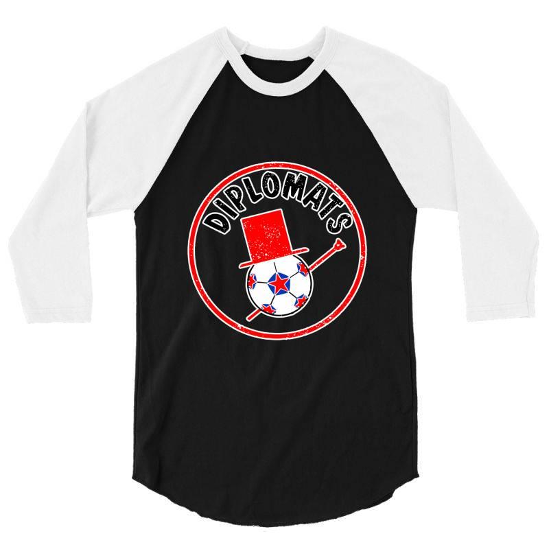 Washington Diplomats Classic T Shirt 3/4 Sleeve Shirt   Artistshot