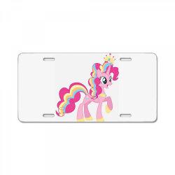 Unicorn cute cartoon art License Plate   Artistshot