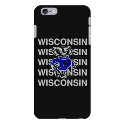 wisco art t shirt iPhone 6 Plus/6s Plus Case | Artistshot