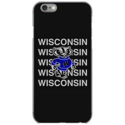 wisco art t shirt iPhone 6/6s Case | Artistshot