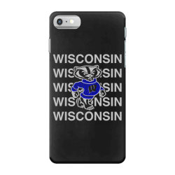 wisco art t shirt iPhone 7 Case | Artistshot