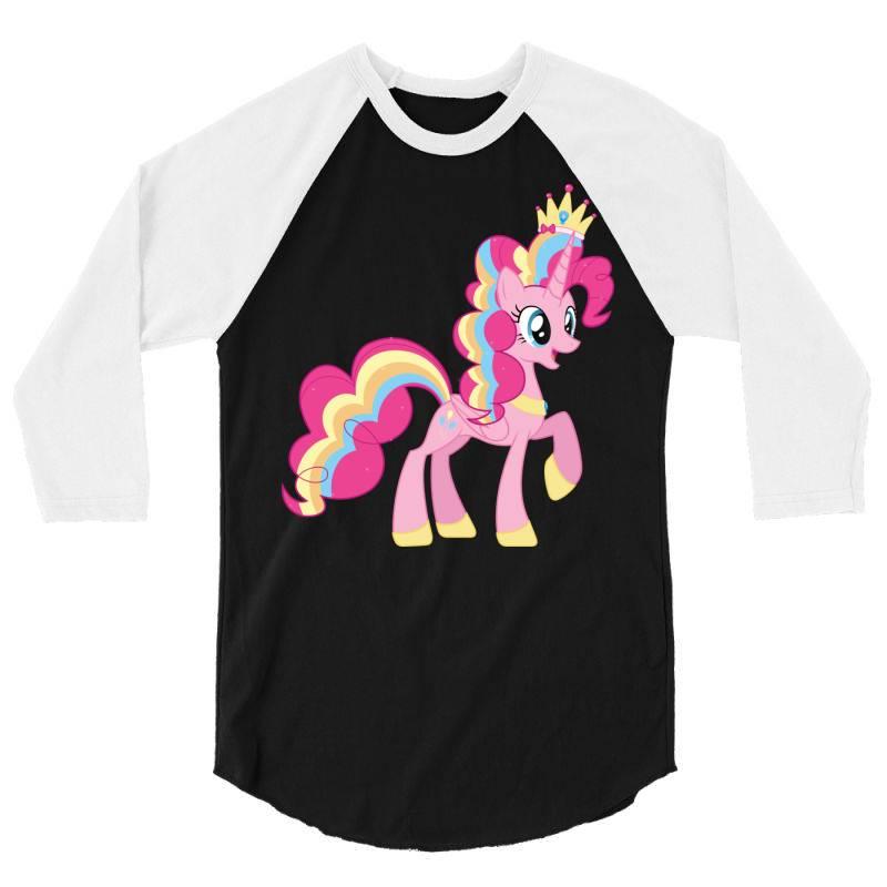 Unicorn Cute Cartoon Art 3/4 Sleeve Shirt | Artistshot