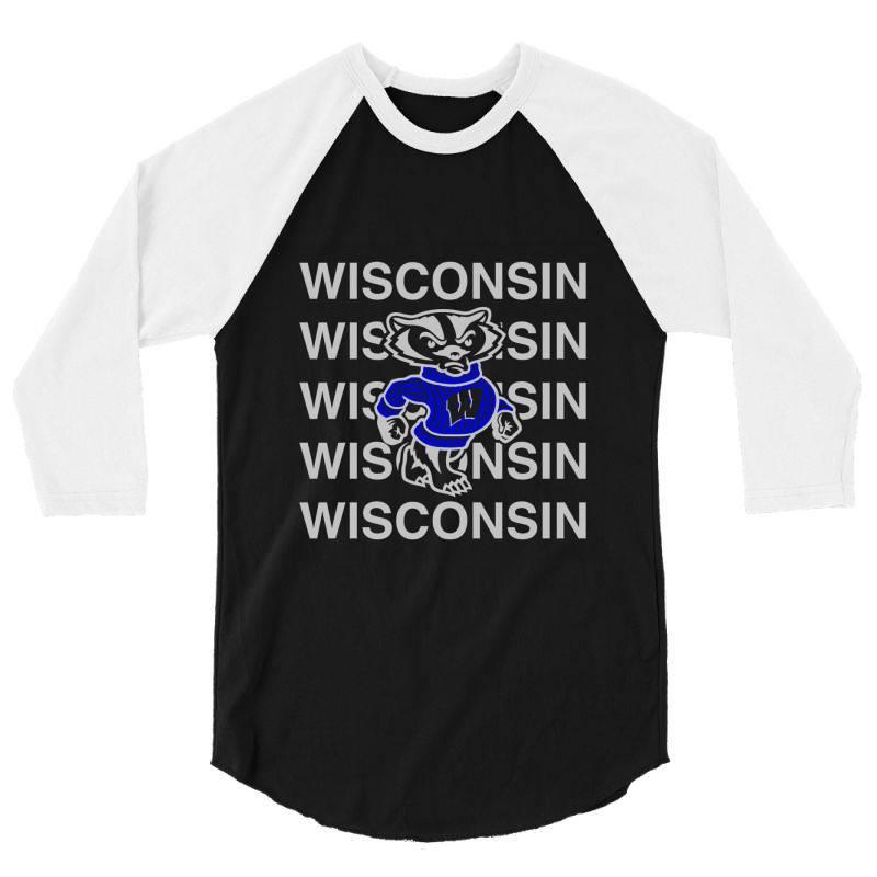 Wisco Art T Shirt 3/4 Sleeve Shirt   Artistshot