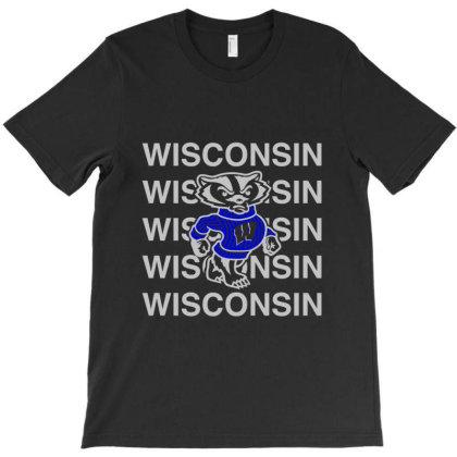 Wisco Art T Shirt T-shirt Designed By Moon99