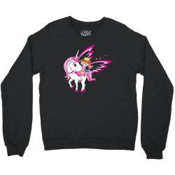 Unicorn cute cartoon art Crewneck Sweatshirt | Artistshot