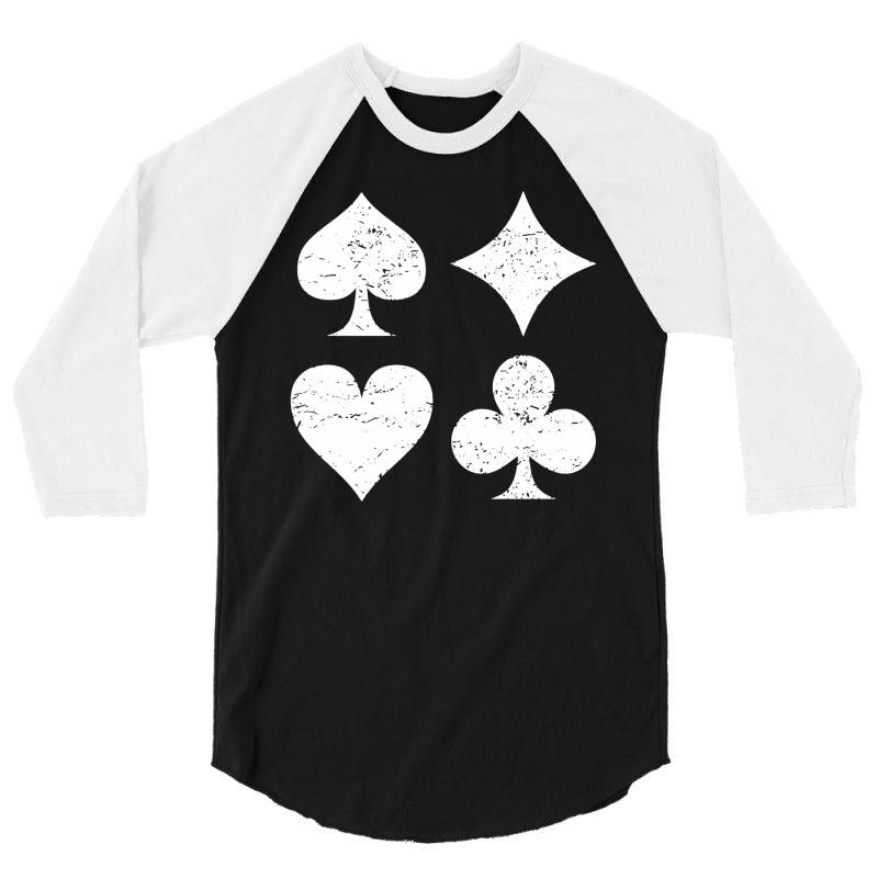 Playing Cards 3/4 Sleeve Shirt | Artistshot