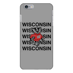wisco classic t shirt iPhone 6 Plus/6s Plus Case | Artistshot