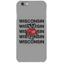 wisco classic t shirt iPhone 6/6s Case | Artistshot