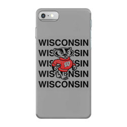 wisco classic t shirt iPhone 7 Case | Artistshot