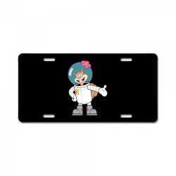 cute astranot cartoon License Plate | Artistshot