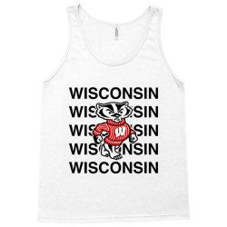 wisco classic t shirt Tank Top | Artistshot