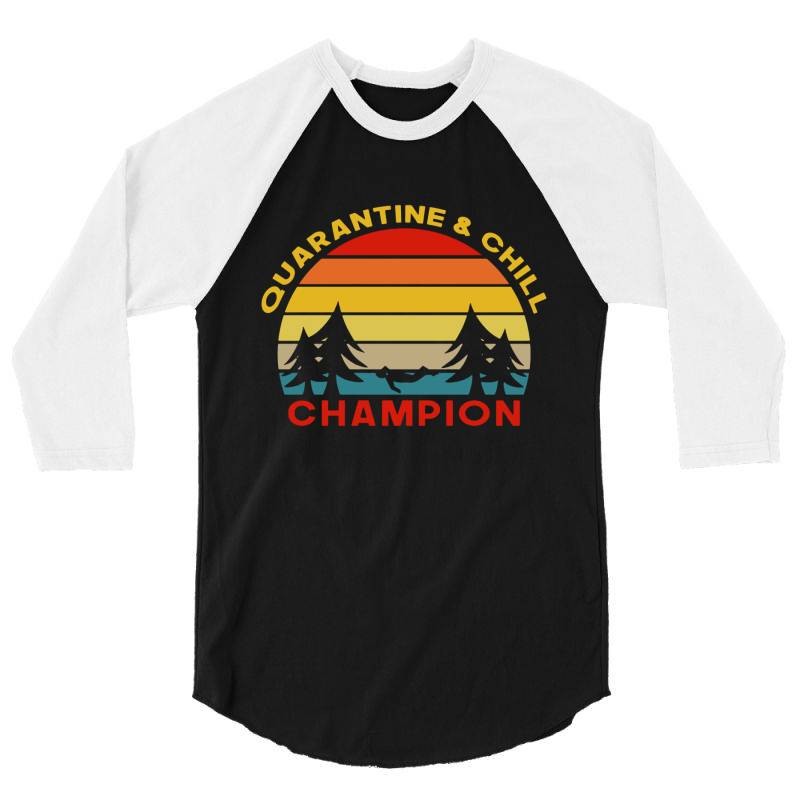 Quarantine Champion 3/4 Sleeve Shirt   Artistshot