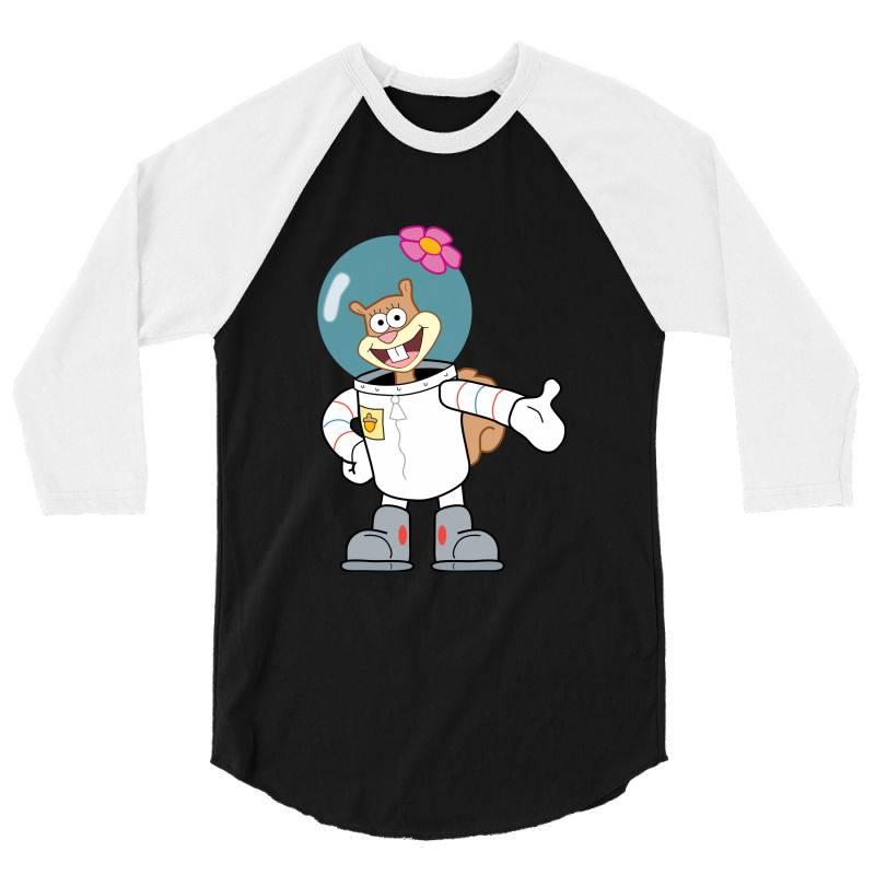 Cute Astranot Cartoon 3/4 Sleeve Shirt   Artistshot