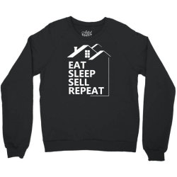 real estate agent saying funny1 Crewneck Sweatshirt | Artistshot