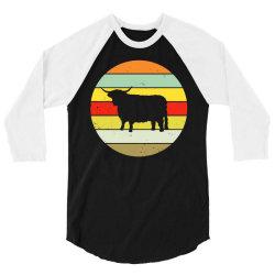 scottish highland highland cattle cow 3/4 Sleeve Shirt | Artistshot