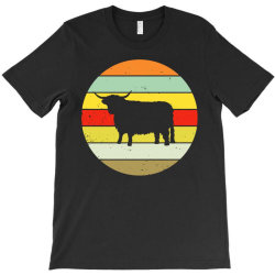 scottish highland highland cattle cow T-Shirt | Artistshot
