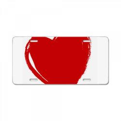 Valentine's Day License Plate   Artistshot