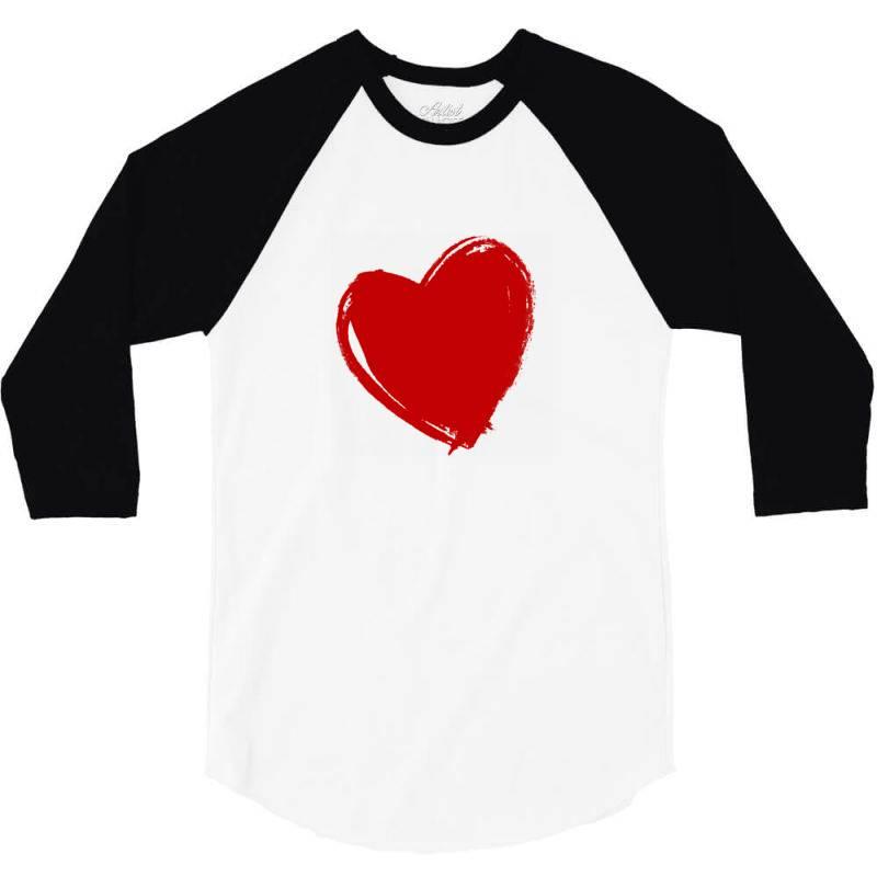 Valentine's Day 3/4 Sleeve Shirt | Artistshot