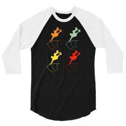 skateboarder 3/4 Sleeve Shirt | Artistshot