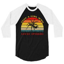 spiders 3/4 Sleeve Shirt   Artistshot