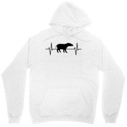 tapir lover ekg heartbeat line Unisex Hoodie | Artistshot