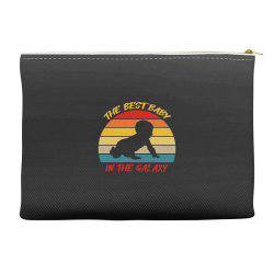 the best baby in the galaxy Accessory Pouches | Artistshot