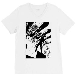 yelena attack on titan anime manga panel classic t shirt V-Neck Tee | Artistshot