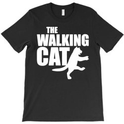 the walking cat funny T-Shirt | Artistshot