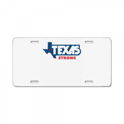 TEXAS STRONG License Plate | Artistshot