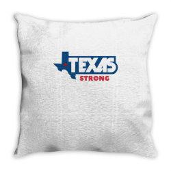 TEXAS STRONG Throw Pillow | Artistshot
