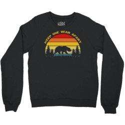 vintage social distancing Crewneck Sweatshirt | Artistshot