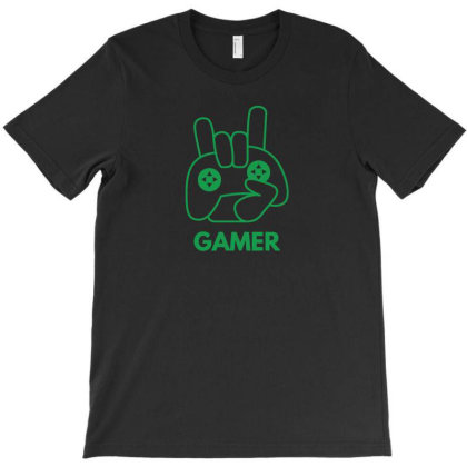 Gamer T-shirt Designed By Fahmifutri