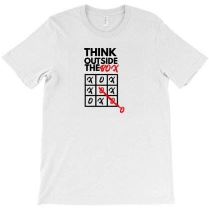 Think Outside The Box T-shirt Designed By Fahmifutri