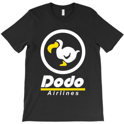 Dodo Airlines Classic T Shirt T-shirt Designed By Moon99