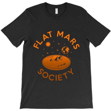 Flat Mars Society Essential T Shirt T-shirt Designed By Moon99