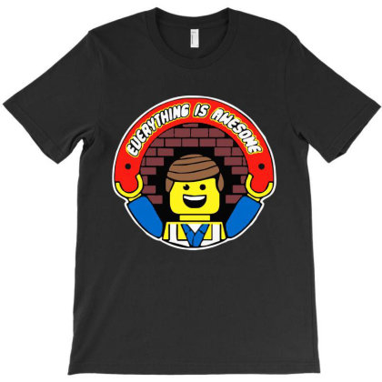Funny Lego Everything Is Awesome T-shirt Designed By Dorothy Tees