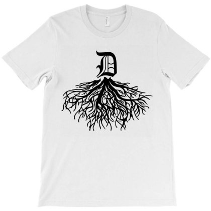 Funny Detroit Roots T-shirt Designed By Dorothy Tees