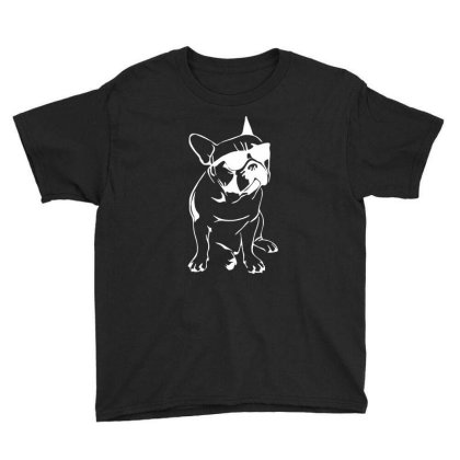 French Bulldog Youth Tee Designed By Dorothy Tees