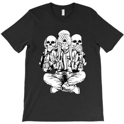 Evil Skull T-shirt Designed By Dorothy Tees