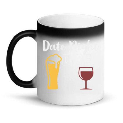 Date Night Dice Magic Mug Designed By Oceaneyes