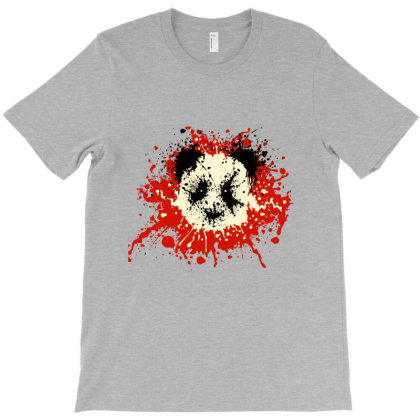 Panda Splatter Classic T Shirt T-shirt Designed By Moon99